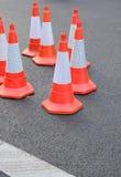 Traffic Cones Stock Image
