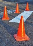 Traffic Cones royalty free stock photo