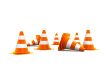 Free Traffic Cones Royalty Free Stock Image - 18537046