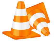 Traffic cones 2 Stock Photography