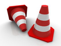 Free Traffic Cones Royalty Free Stock Photography - 2608727