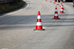 Free Traffic Cones Royalty Free Stock Image - 39066996