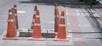 Traffic Cones Stock Photos