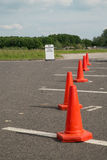 Traffic cones Stock Photos