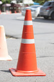 Traffic cones. Royalty Free Stock Photos