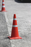 Traffic cones. Stock Photo