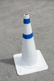 Traffic Cones on Road Royalty Free Stock Image