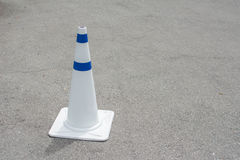 Traffic Cones on Road Stock Photography