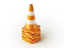 Traffic Cones Royalty Free Stock Photos