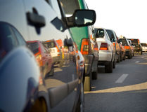 Traffic congestion Stock Photography