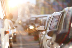 Traffic congestion Royalty Free Stock Images