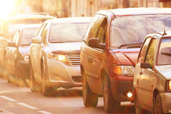 Traffic congestion Stock Images