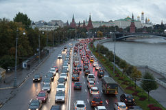 Traffic congestion Royalty Free Stock Photography