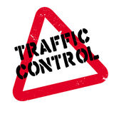 Traffic Control rubber stamp Stock Images