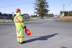 Traffic Controller Royalty Free Stock Photography