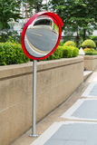 Traffic Convex Mirror Royalty Free Stock Images