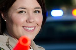 Traffic cop Royalty Free Stock Images