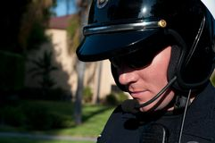 Traffic cop Stock Photography