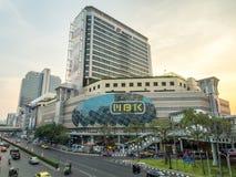 Traffic crossroads in Bangkok Stock Photo
