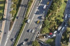 Traffic. Dense Traffic At Istanbul, Turkey royalty free stock images