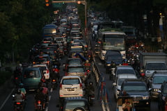 Traffic density Royalty Free Stock Images