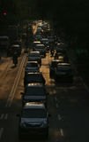 Traffic density Royalty Free Stock Photo