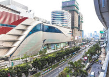 Traffic and development in Bangkok Stock Photos
