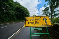 Traffic Diversion Stock Photography