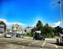 Traffic in edinburgh, scotland Royalty Free Stock Image