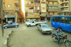 Traffic in Egypt Stock Images