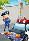 A traffic enforcer Royalty Free Stock Images