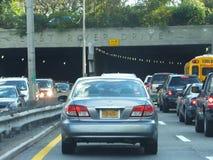 Traffic on FDR, New York City, NY Royalty Free Stock Photos