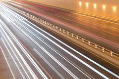 traffic flow Stock Photography