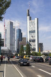 Traffic in Frankfurt Stock Photos