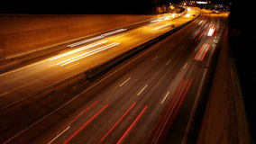 Traffic on Freeway Royalty Free Stock Photography