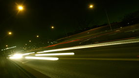 Traffic on Freeway stock video