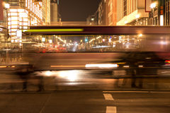 Traffic at friedrichstrasse Stock Images