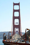 Traffic on Golden Gate Bridge Stock Photography