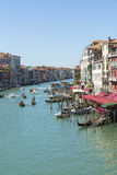 Traffic on Grand canal Stock Image