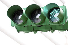 Traffic green light Royalty Free Stock Photography