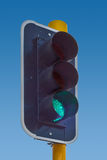 Traffic Green Light Stock Image