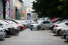 Traffic in Guangzhou city, China Stock Photo