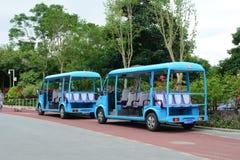 Traffic in Guangzhou city, China Royalty Free Stock Image