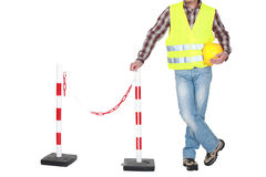 Traffic guard Royalty Free Stock Images
