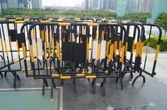 Traffic guardrail Stock Photography
