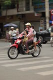 Traffic Hanoi Stock Photography