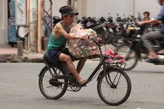 Traffic Hanoi Royalty Free Stock Photos