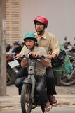 Traffic Hanoi Royalty Free Stock Images