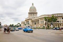 Traffic in Havana, Cuba Stock Photos