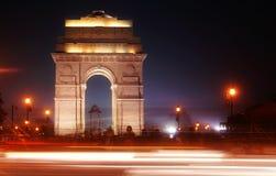 Traffic Haze at india gate Royalty Free Stock Photos